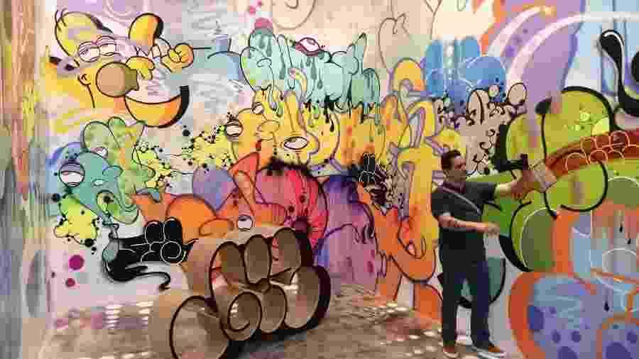 Museum of Graffitti, em Miami, nos Estados Unidos - Reprodução/@museumofgraffiti