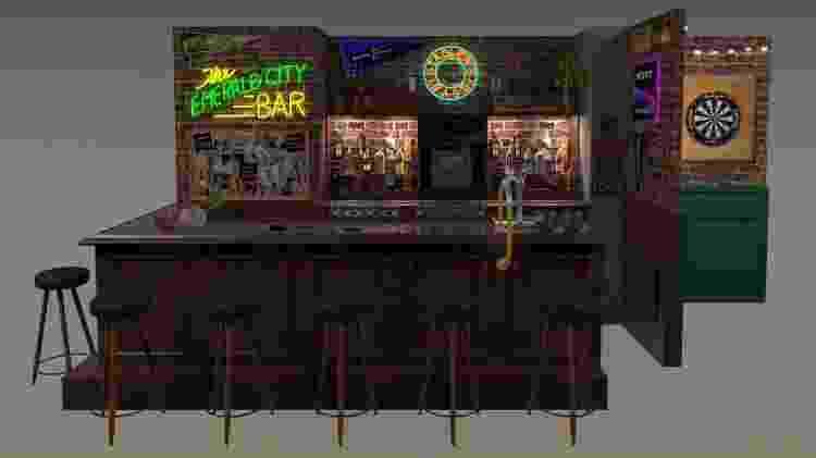 Prévia digital do Bar do Joe em evento especial da série Grey's Anatomy - Divulgação