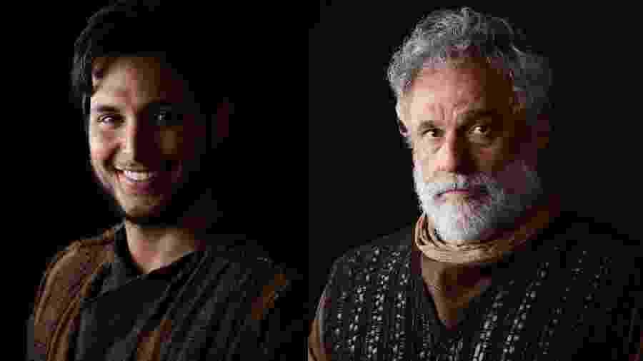 Bruno Guedes e Oscar Magrini viverão Noé em Gêneses, da TV Record - Blad Meneghel/ Record TV