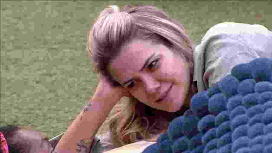 BBB 20: Marcela pergunta para sisters se Daniel foi eliminado por perdes estalecas - Reprodução/Globoplay