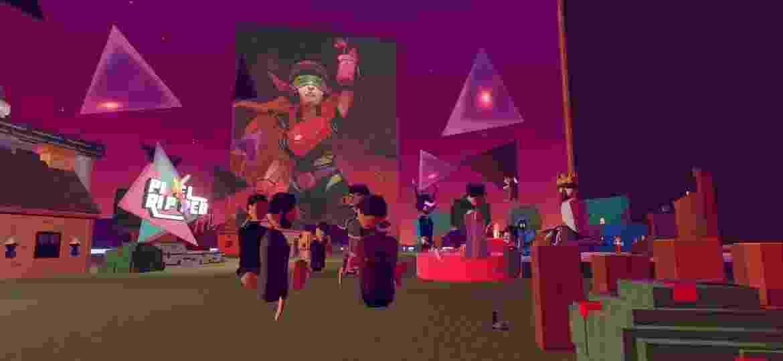 Pixel Ripped 1995 teve festa de lançamento dentro de realidade virtual - Reprodução