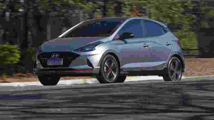Hyundai HB20 conseguiu retornar à vice-liderança - Murilo Góes/UOL