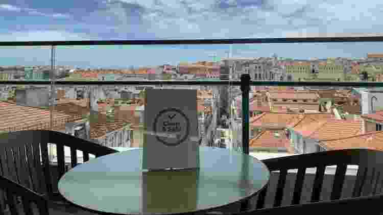 """Selo """"Clean & Safe"""", usado em Portugal para demonstrar os cuidados contra o coronavírus - Divulgação - Divulgação"""