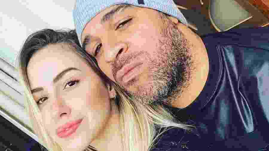 Adriano Imperador e ex-noiva Victoria Moreira - Reprodução/Instagram