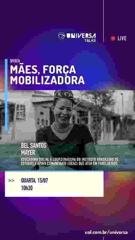 Universa Talks - Mulher no mercado de trabalho - Bel Santos Mayer - Arte/UOL - Arte/UOL