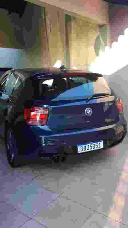 Razuk Luan Petrolhead carros apreendidos polícia civil BMW 118i - Divulgação - Divulgação