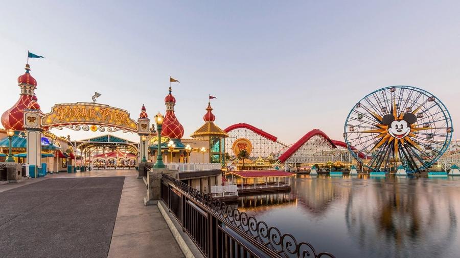 Disney California Adventure Park: fechado pela pandemia - Divulgação