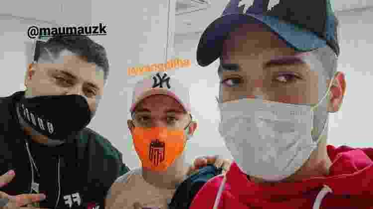 maumauzk vanquilha nzao Los Grandes no hospital Free Fire - Reprodução/Instagram - Reprodução/Instagram