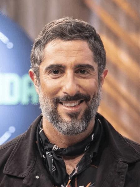 O apresentador Marcos Mion foi dispensado pela Record há um mês - Divulgação / TV Record