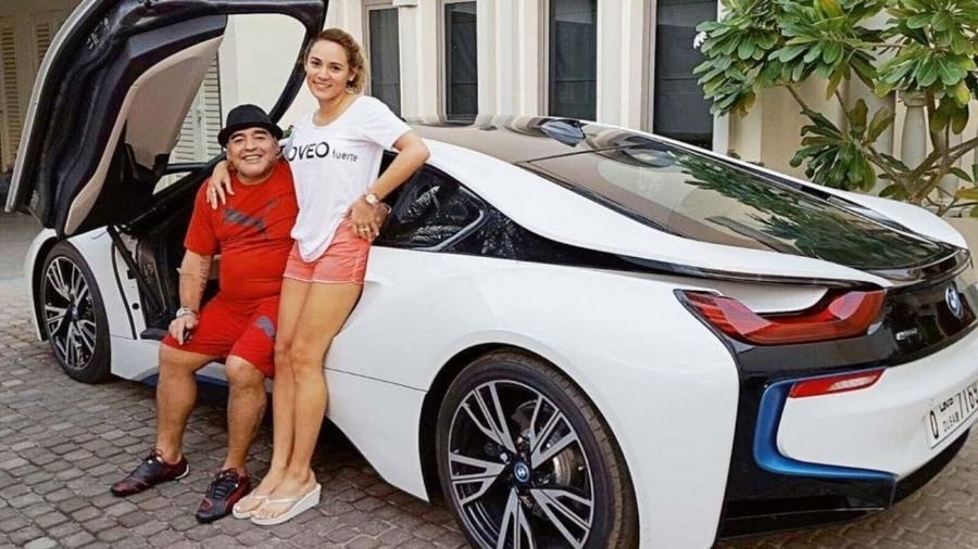 BMW i8 Coupé 2014 de Maradona - Reprodução