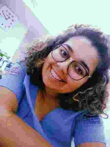 Rayssa Gomes, técnica de enfermagem - Arquivo pessoal - Arquivo pessoal