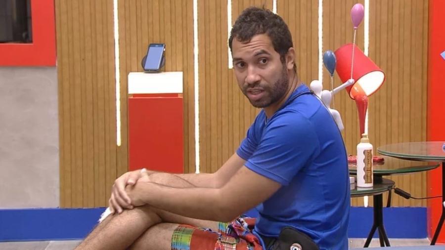 BBB 21: Gilberto diz que está ansioso com a reta final do programa - Reprodução/ Globoplay