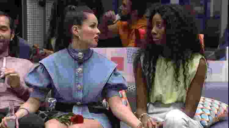 BBB 21: Juliette fala de Pocah com Camilla - Reprodução/Globoplay - Reprodução/Globoplay