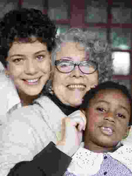 A atriz com a mãe e a filha, Júlia, de 6 anos - Reprodução/Instagram - Reprodução/Instagram