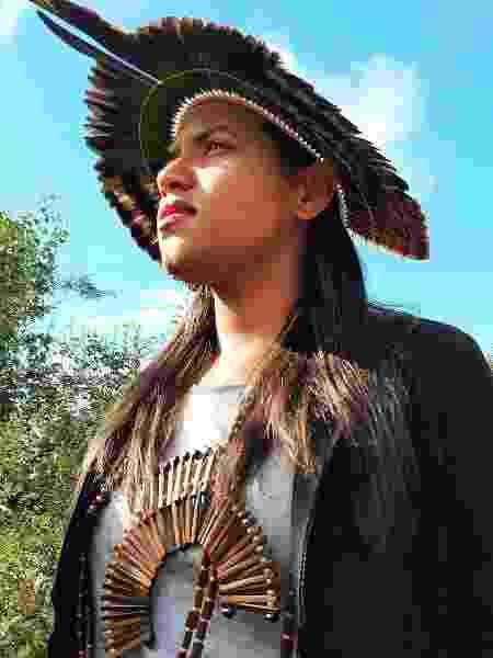Jaqueline Kambiwá, universitária indígena da Aldeia Nazário - Arquivo pessoal - Arquivo pessoal
