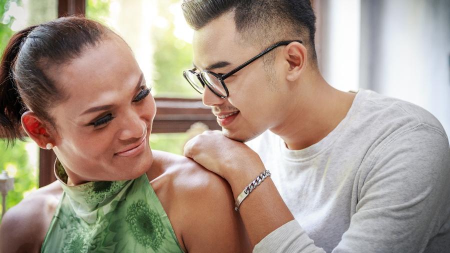 """""""O amor eterno existe sim, até para nós, pessoas trans"""", Noah Scheffel  - TwilightShow/Getty Images"""