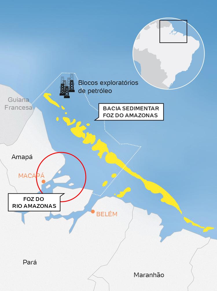 Resultado de imagem para perfuração da Foz do Amazonas