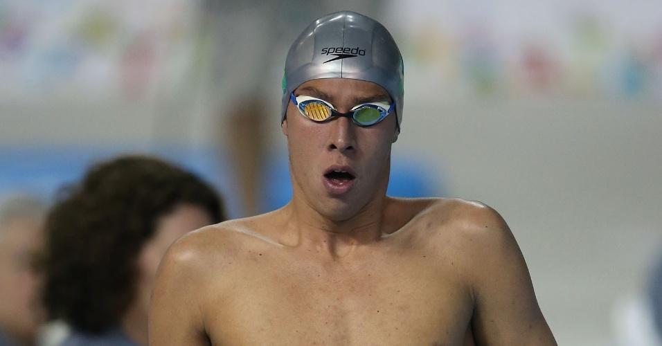 Brandonn Almeida se classificou para a final dos 400m medley masculino