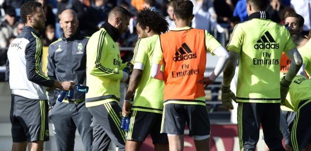 Técnico se disse satisfeito com atual elenco do Real Madrid