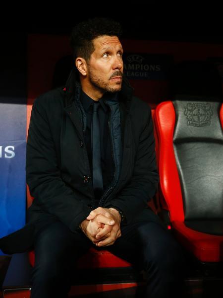 Simeone comanda mais um bom trabalho com o Atlético de Madri - Reuters / Wolfgang Rattay