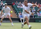 Brasileiro Bruno Soares cai nas quartas do torneio de duplas de Wimbledon - DANIEL LEAL-OLIVAS/AFP