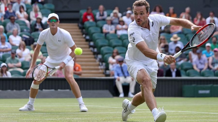57005508bed Brasileiro Bruno Soares cai nas quartas do torneio de duplas de Wimbledon