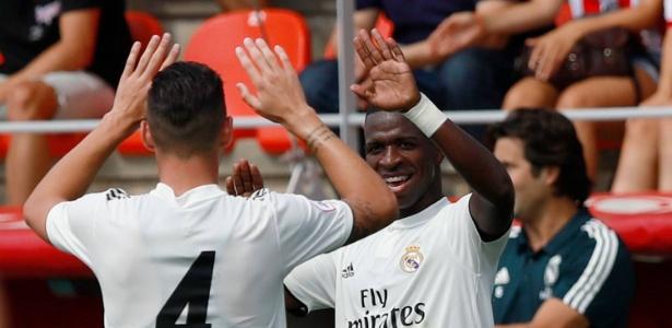 Vinicius Jr está atuando na equipe B do Real Madrid - Divulgação/Real Madrid