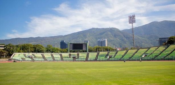 Estádio Universitário de Caracas, palco do jogo do Atlético nesta quarta - Site oficial Caracas FC