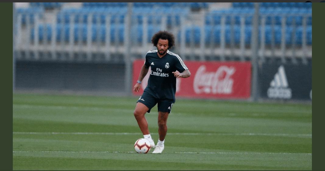 Marcelo, lateral-esquerdo do Real Madrid