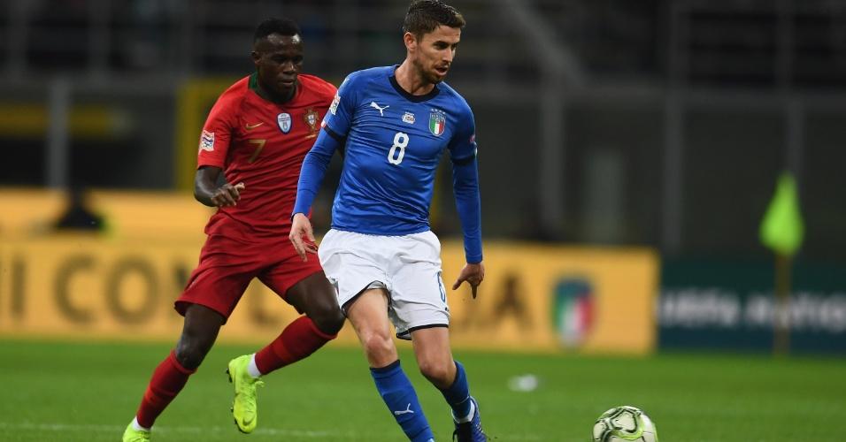 Bruma Jorginho Itália Portugal Liga das Nações