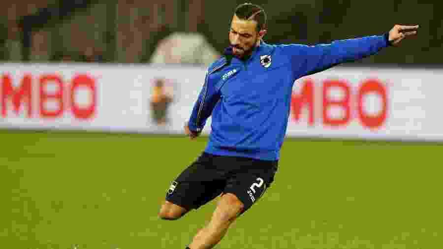 Em 160 partidas pela Sampdoria, Quagliarella marcou 68 gols e deu 19 assistências  - Ciro De Luca/REUTERS