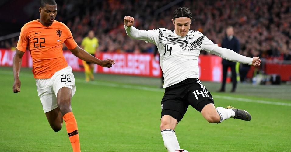 Schulz marcou o gol que deu a vitória para a Alemanha