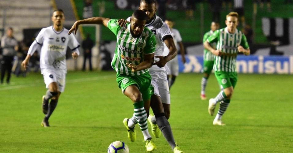 Juventude x Botafogo em jogo pela Copa do Brasil