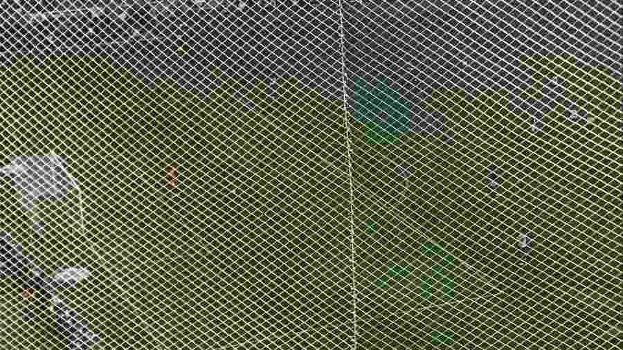 Visão prejudicada da torcida visitante no Allianz Parque, em jogo entre Palmeiras e Bahia - André Lessa/Arquivo pessoal