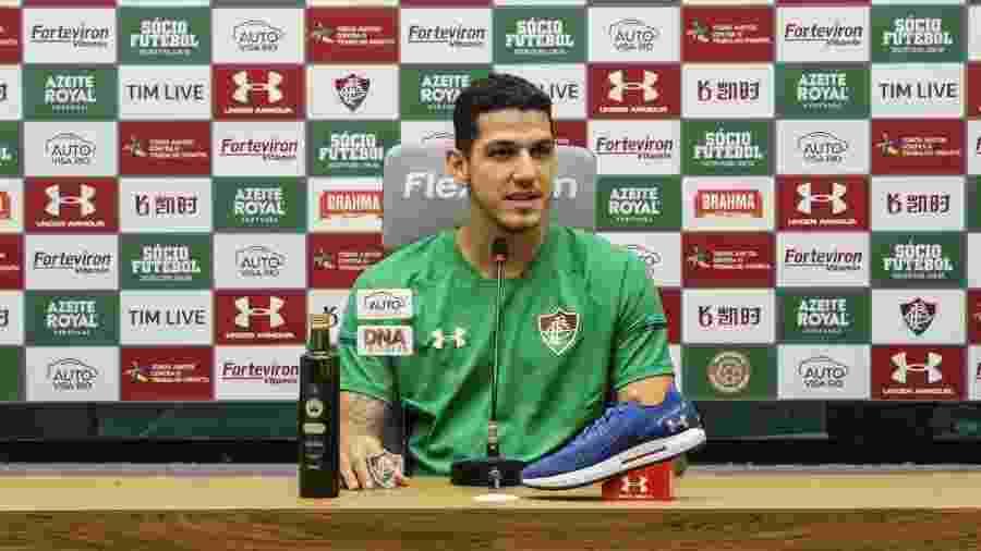 Nino exaltou importância de Diniz em trabalho de Marcão no Fluminense - Lucas Merçon/Fluminense FC