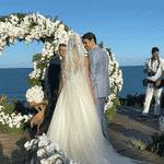 Kaká e Carol Dias se casam na Bahia - Reprodução