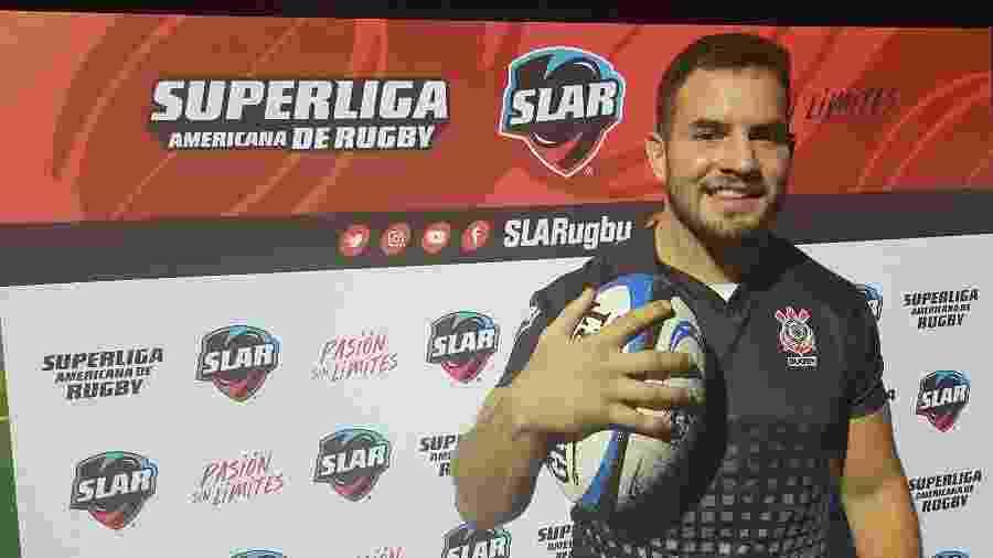 Arthur Bergo, jogador da seleção brasileira de rúgbi e do Corinthians - Corinthians Rugby