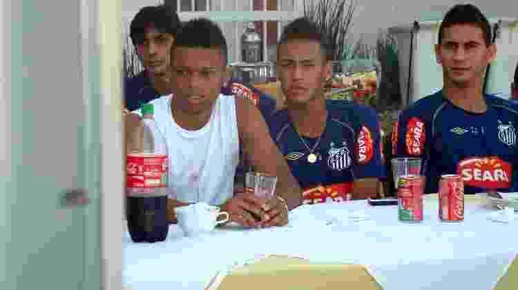 Ganso Neymar André Santos 2010 - Ricardo Saibun/Santos FC - Ricardo Saibun/Santos FC