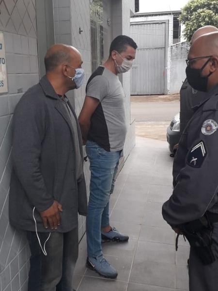 Piá foi detido em flagrante quando furtava envelopes de um caixa eletrônico - Divulgação/Guarda Municipal de Cordeirópolis