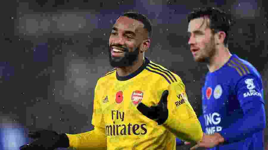 Lacazette, do Arsenal, pode ir para o Atlético de Madri em troca por Partey - Harriet Lander/Copa/Getty Images