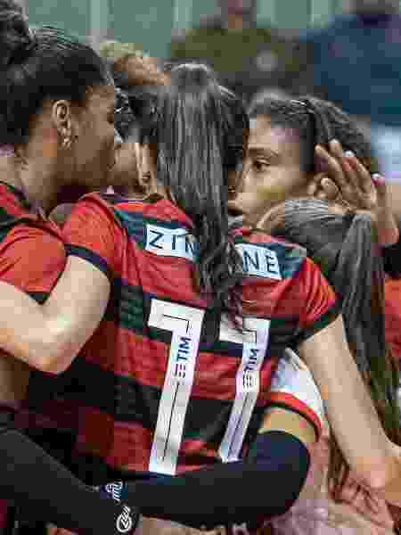 Equipe do Flamengo de vôlei tem patrocínio da TIM - Paula Reis/Flamengo - Paula Reis/Flamengo