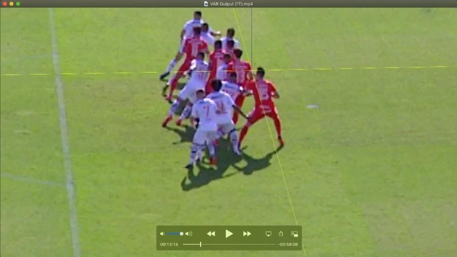 Imagem do dossiê enviado pelo Vasco ao STJD pedindo anulação do jogo contra o Inter - Reprodução
