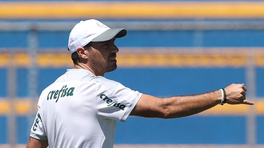 Abel Ferreira terá dois dias para preparar a equipe para a decisão - Cesar Greco/ Palmeiras