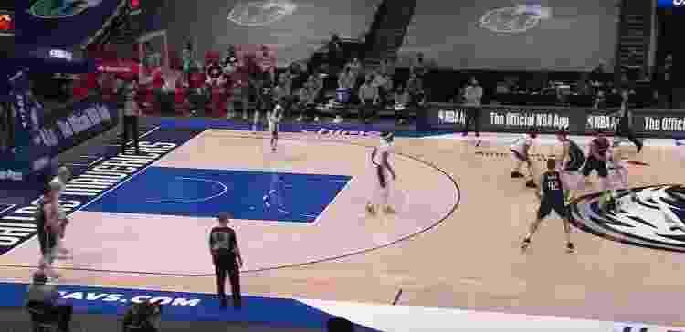 Dallas PNR - Reprodução/NBA - Reprodução/NBA