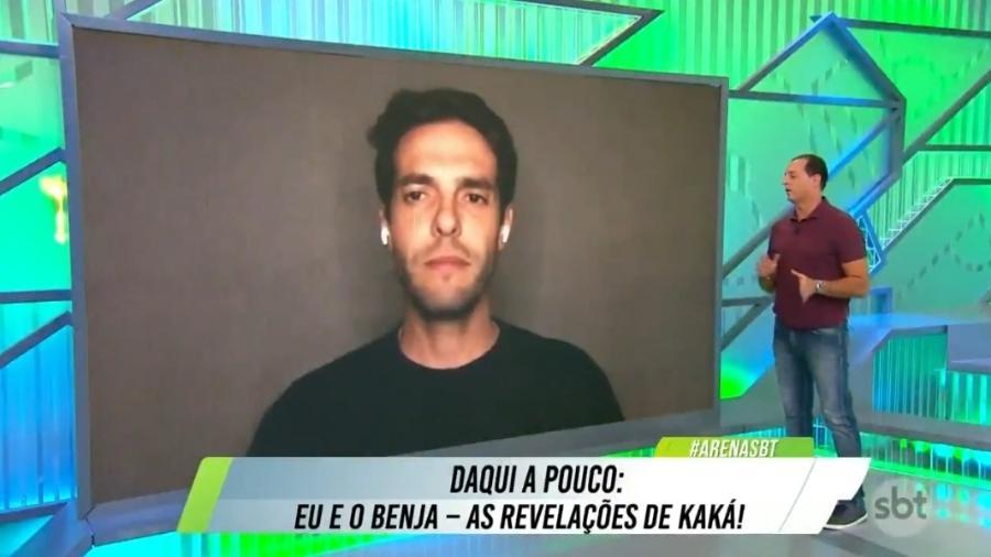 Kaká torce por fim de jejum de títulos do São Paulo - Reprodução/SBT