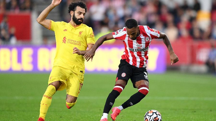 Brentford enfrenta o Liverpool em jogo válido pelo Campeonato Inglês - GettyImages