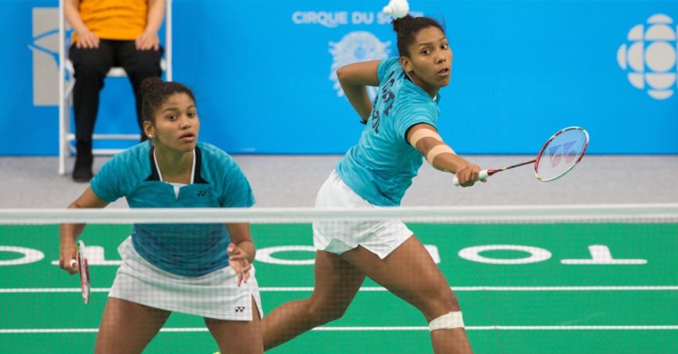 Irmãs Luana e Lohaynny Vicente foram derrotadas pelas norte-americanas Eva Lee e Paula Lynn Obanana e ficaram com a medalha de prata no badminton