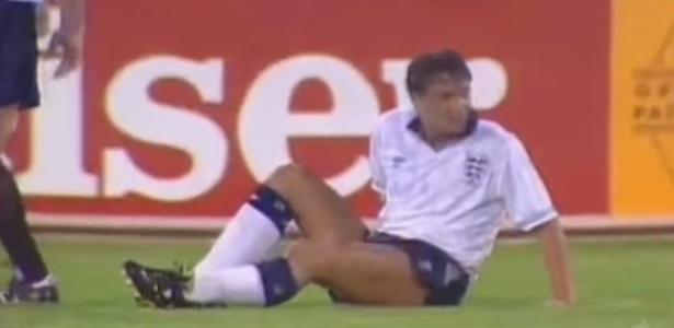 Gary Lineker passou por situação desagradável na Copa do Mundo de 1990 - Reprodução