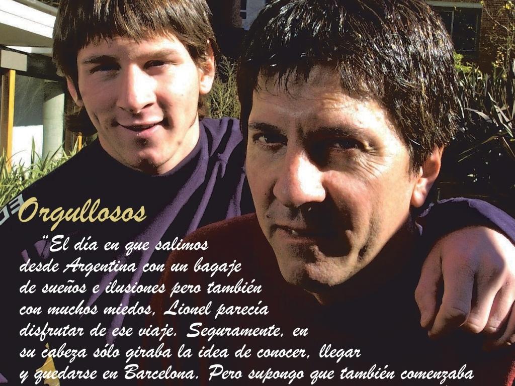 Jornal Marca divulga carta de Jorge Messi, pai de Lionel Messi, ao filho