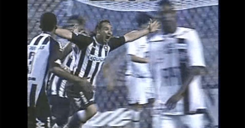 Zárate, argentino que teve problemas com a balança em passagem pelo Botafogo